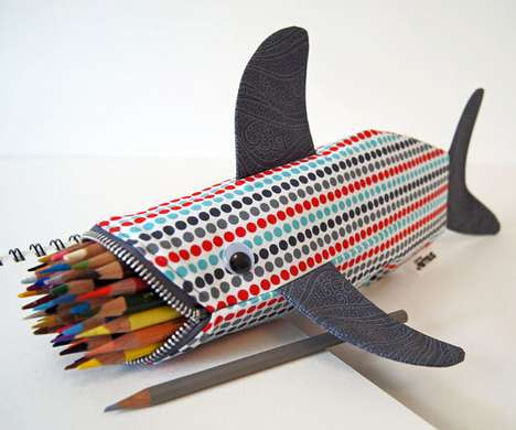 hark Pencil Case by Minne Bites 