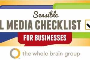 This Sensible Social Media Checklist is a Guideline for Businesses
