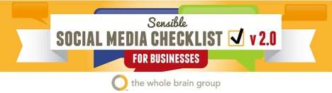 Sensible Social Media Checklist