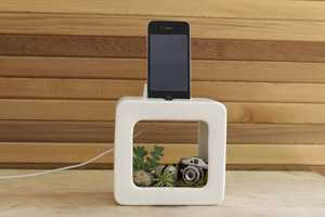 The Bloombox iPhone Mount is Beautifully Designed