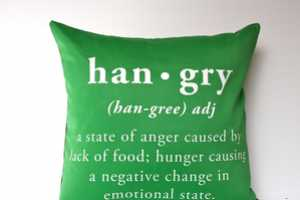 The Hangry Cushions by My Bearded Pigeon Examine Modern Terminology