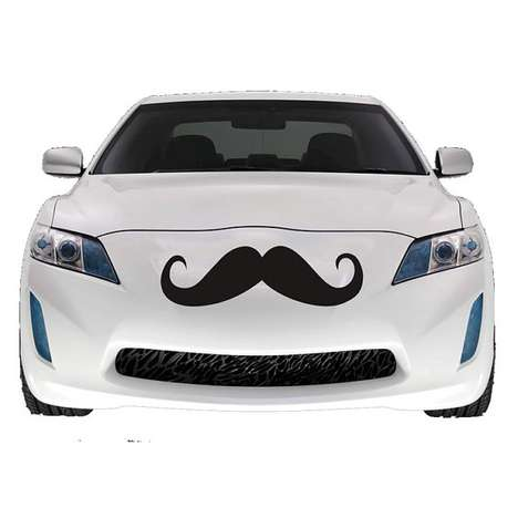 Mustache Car Decal by Urban Decal