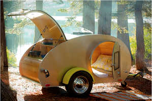 The Teardrop Trailer Allows You to Rough it in Comfort