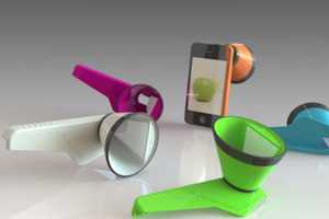 The iPhone '3DCone' Creates Pictures and Video Like Never Before
