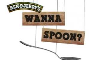 The Ben N' Jerry's 'Wanna Spoon' Campaign is a Double Entendre