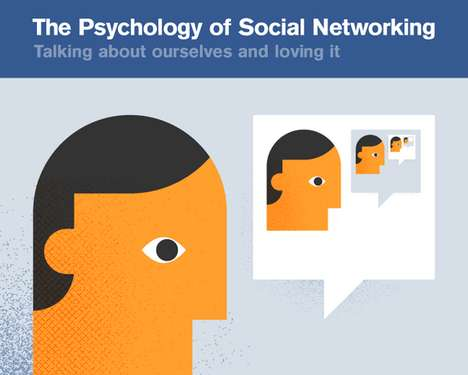 Psychology of social networking chart