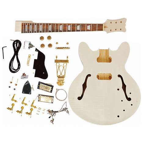 Unfinished Electric Guitar Kit