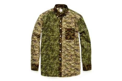 Hamilton 1883/Project Wooster Shirts Play with Camo and Plaid Prints