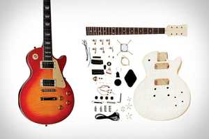'Unfinished Electric Guitar Kits' Lets You Build Your Own Guitar