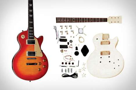 Unfinished Electric Guitar Kits