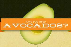 The All About Avocados Infographic Contains Tasty Information
