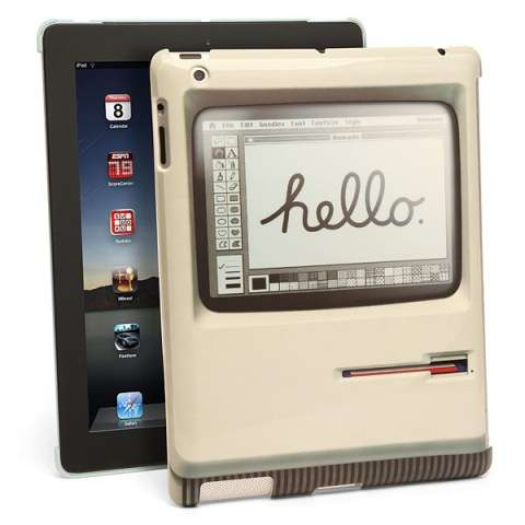 Old School Desktop Tablet Covers