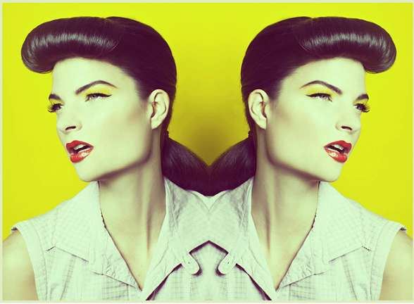 Kaleidoscopic Pin-Up Shoots