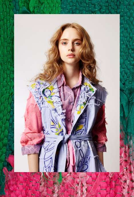 Colorfully Textured Catalogs - The Colette Vermeulen Spring 2013 Lookbook is Vibrantly Boho