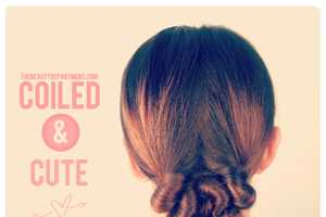 The Beauty Department Coiled Low Bun Tutorial is Seriously Easy