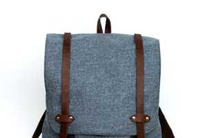 The Wayfarer Backpack by Sketch Book Boasts Vintage Flair