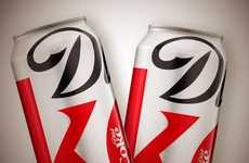 Bestselling Beverage Rebranding - The Diet Coke New Packaging Revamps a 5-Year-Old Design