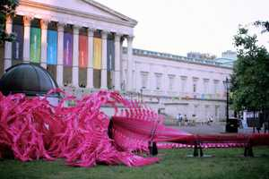 Bloom Art Installation Celebrates the 2012 Summer Olympics