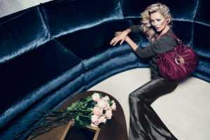 The Liu Jo Fall 2012 Campaign Stars a Sophisticated Kate Moss