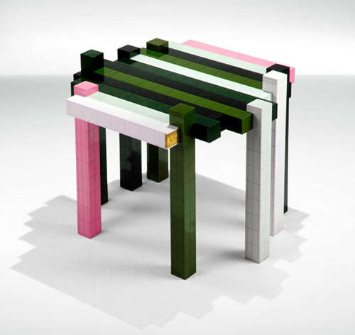 DIY Building Block Furniture