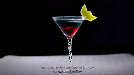 Dark Knight Rises Cocktails