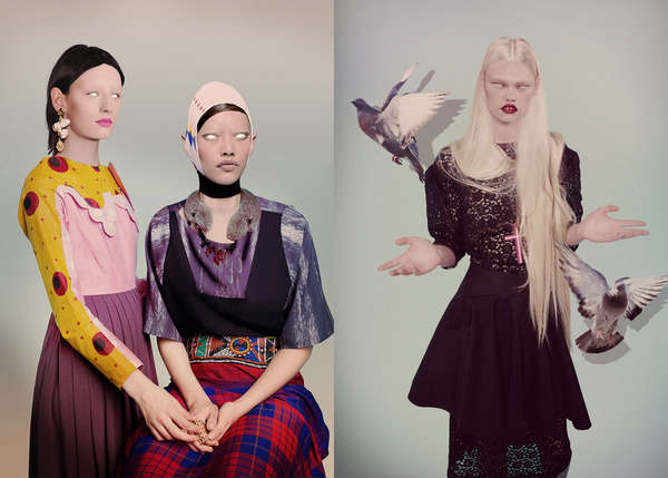 Unnerving Fashion Photography
