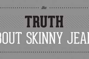 The Truth About Skinny Jeans Chart is Cleverly Cautious