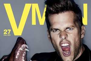 Tom Brady for VMAN is Portrayed as the Alpha Male