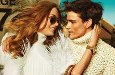Fur-Trimmed Streetwear - The Michael Kors Fall Catalog is Haute and Ready-to-Wear