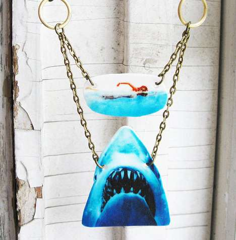 shark necklace by Chantelle Wilson