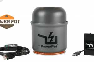 The PowerPot Turns Heat into Electricity