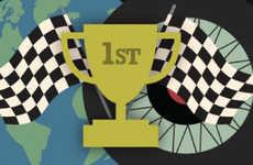 Car Racing Infographics