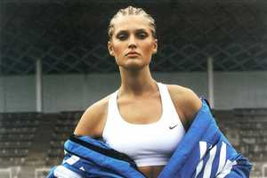 The Toni Garrn for Interview Germany Sweats it Out in Style