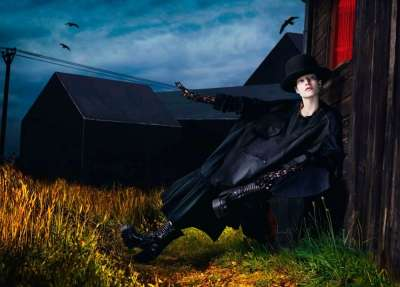 Vogue Paris Le Noir Partie 2 Editorial