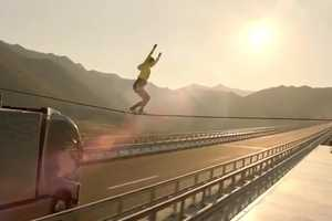 Volvo Trucks' 'The Ballerina Stunt' is Death-Defying and Terrifying