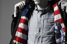 Patriotic Outerwear Pictorials