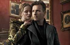 Celeb Biker Gang Lookbooks - The Belstaff Fall/Winter Campaign Stars A-Lister Ewan McGregor