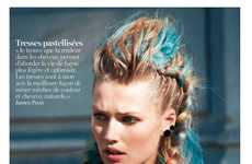 Rainbow-Haired Punk Editorials