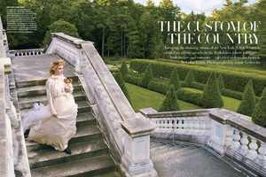 Natalia Vodianova in US Vogue September 2012 is Stunning & Surreal