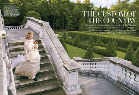 Natalia Vodianova in US Vogue September 2012