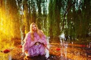 Lara Stone is a Woodland Goddess for Vogue UK September 2012