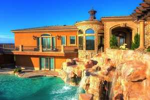 This Boulder City, Nevada Home Has Waterslide and Caves
