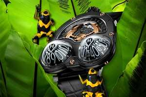 The HM3 Frog Watch Tells Time from All Angles