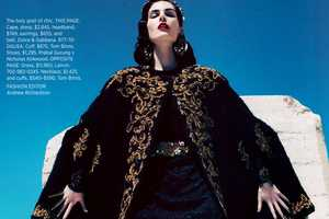 Hilary Rhoda for the Harpers Bazaar USA September 2012 Stuns