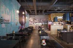The Amerikka Design Office Chico's Restaurant is Bold