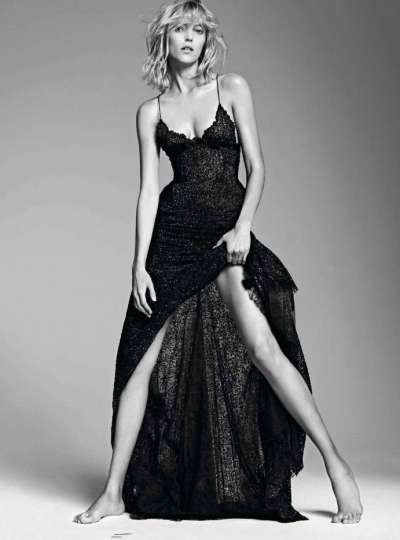Anja Rubik for Vogue Paris September 2012