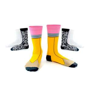 School Supply Stockings - The Ashi Dashi Back to School Socks are Education-Oriented