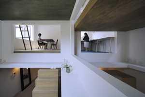 House T by Hiroyuki Shinozaki Architects is Bright and Spacious