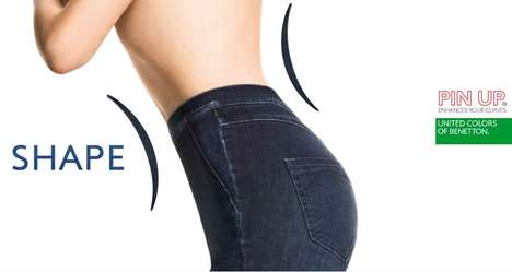 Benetton Pin Up Denim