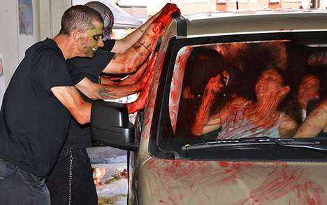 Zombie Car Wash in Toronto